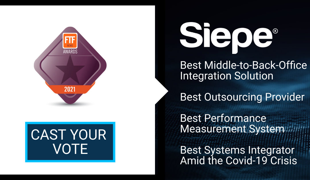 Siepe Shortlisted in Four Categories in the FTF News Technology Innovation Awards 2021